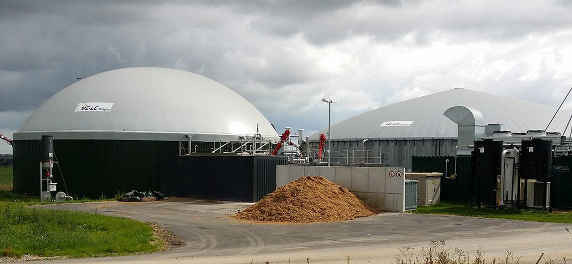 Biogasanlage Blumberg