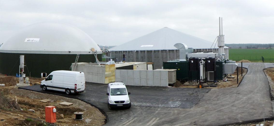 Inbetriebnahme einer <br>neuen Biogasanlage in Blumberg